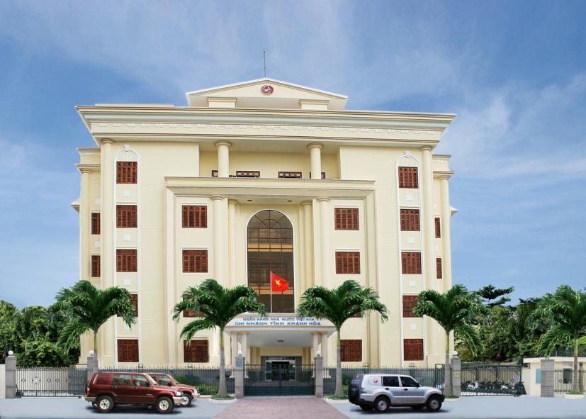 Trụ sở làm việc của Ngân hàng Nhà nước Chi nhánh tỉnh Khánh Hoà
